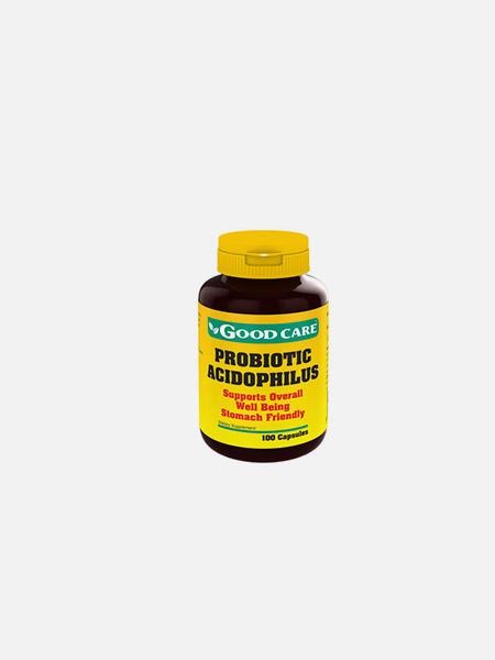 Probiotic acidophilus - 100 cápsulas - Good Care