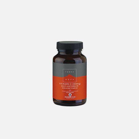 Vitamin C 250mg Multi-Ascorbate Complex (Non Acidic) – 50 cápsulas – Terra Nova