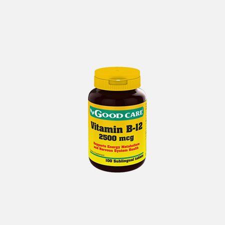 Vitamina B12 2500 mcg – 100 comprimidos – Good Care