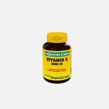 Vitamina E 1000iu – 50 cápsulas – Good Care