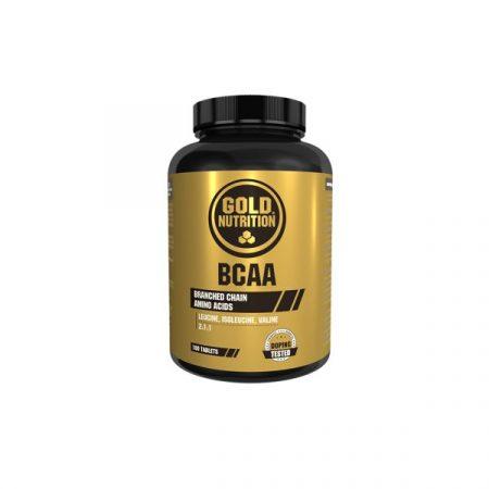 BCAA`S – Gold Nutrition – 180 cápsulas