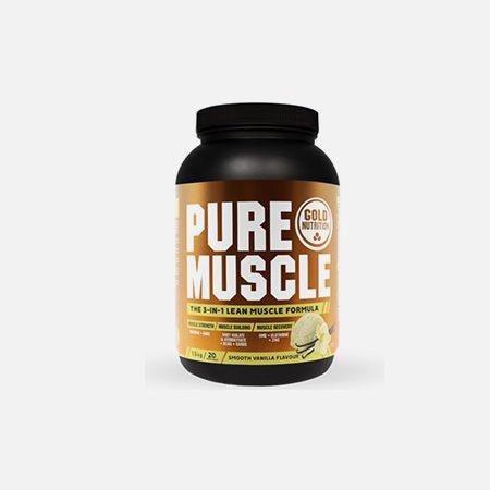 Pure Muscle sabor baunilha – 1,5kg – Gold Nutrition