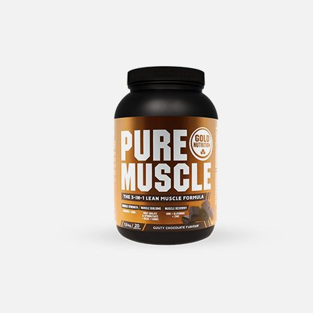 Pure Muscle sabor chocolate – 1,5kg – Gold Nutrition