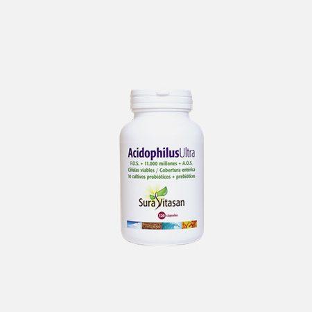 Acidophilus Ultra – 120 cápsulas – Sura Vitasan