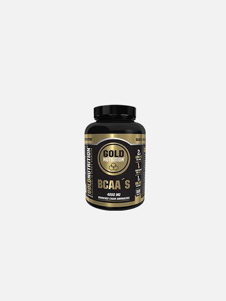 BCAA`S - 180 cápsulas - Gold Nutrition