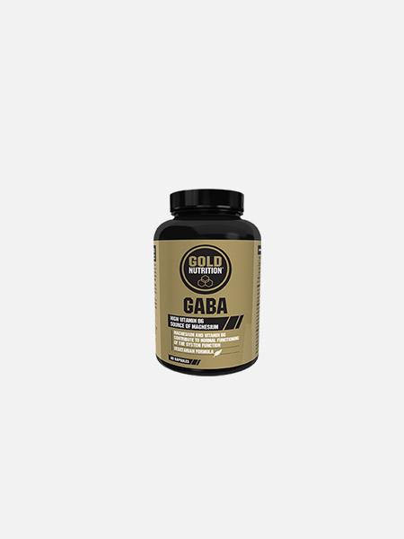GABA - 60 cápsulas - Gold Nutrition