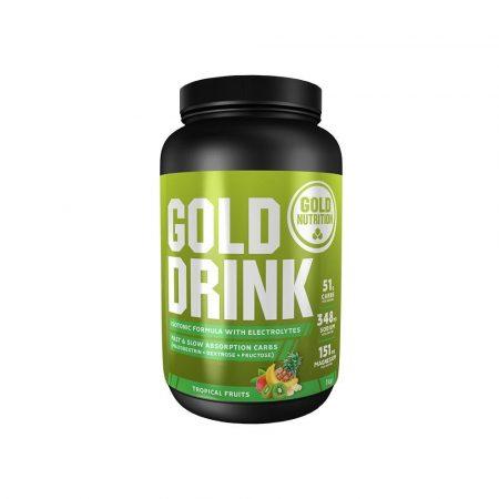 Gold Drink sabor Frutos Tropicais – 1kg – Gold Nutrition