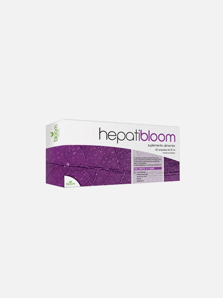 Hepatibloom - 30 ampolas - Bloom