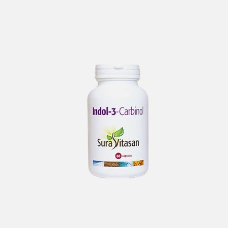 Indol-3-Carbinol – 60 cápsulas – Sura Vitasan