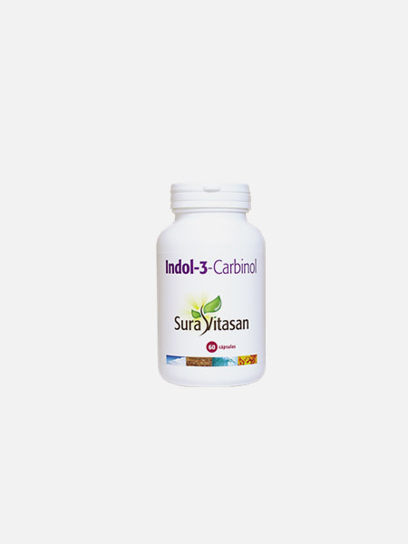 Indol-3-Carbinol - 60 cápsulas - Sura Vitasan