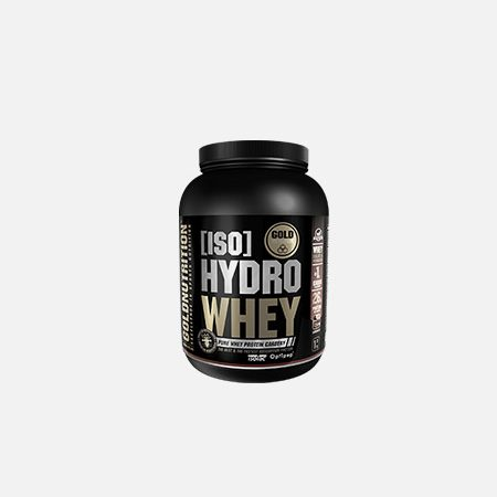 IsoHydro Whey sabor chocolate – 1Kg – Gold Nutrition