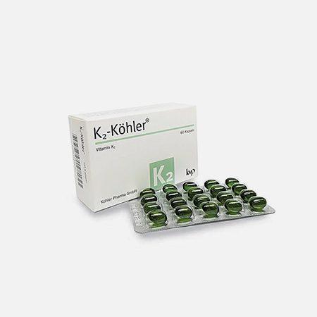 K2 Kohler Vitamina K2 – 60 cápsulas – KVP