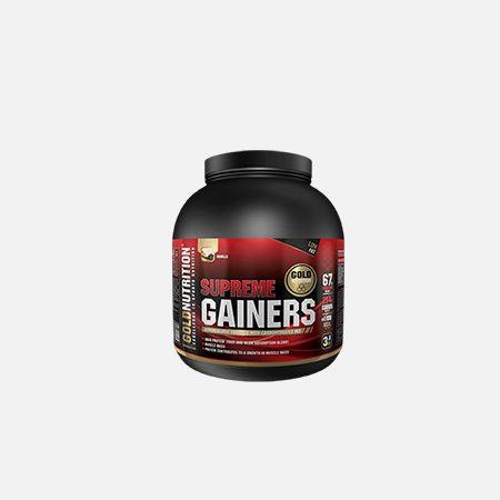 Supreme Gainers baunilha – 3kg – Gold Nutrition