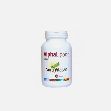 Alpha Lipoico 125mg – 60 cápsulas – Sura Vitasan