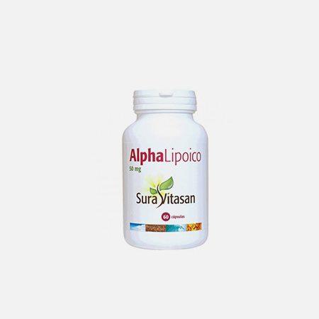 Alpha Lipoico 50mg – 60 cápsulas – Sura Vitasan