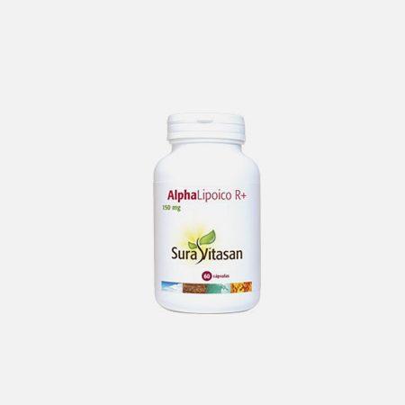 Alpha Lipoico R+ – 60 cápsulas – Sura Vitasan