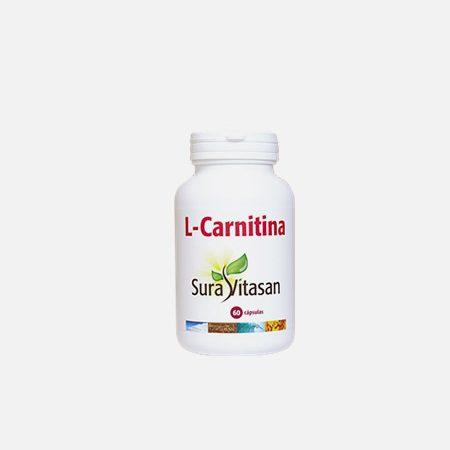 L-carnitina – 60 cápsulas – Sura Vitasan