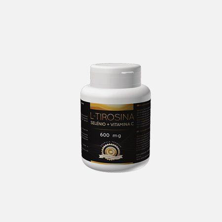 L-TIROSINA selénio + vitamina C – 60 cápsulas – Japa