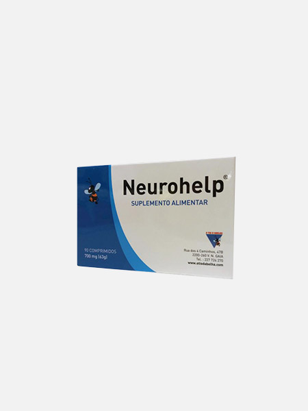Neuro Help - 90 comprimidos - O Tio d'Abelha