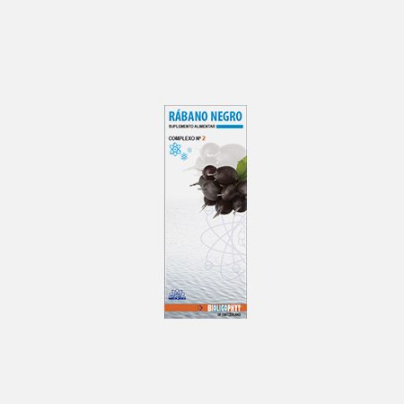 Rábano negro Complexo Nº 2 – 100ml – Bioligo
