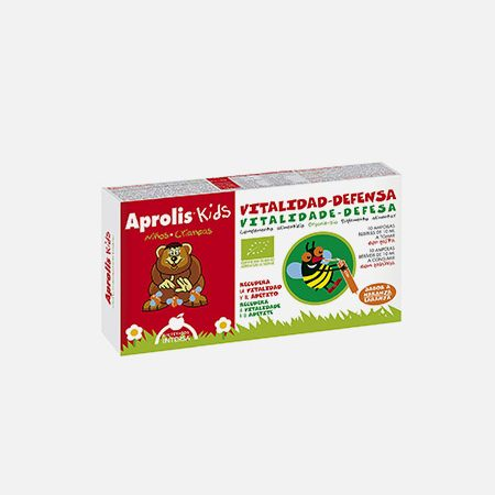 Aprolis Kids Vitalidade-Defesa – 10 ampolas – Dietética Intersa