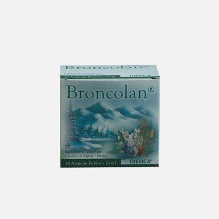 Broncolan – 30 ampolas – Diética