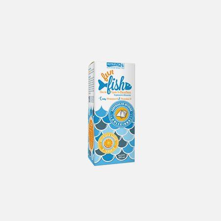 Fun fish óleo de fígado de bacalhau – 200ml – Nutriflor
