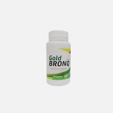 Goldbronq 370mg – 90 cápsulas – Goldvit