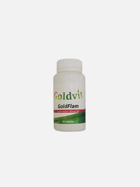 Goldflam - 60 cápsulas - Goldvit