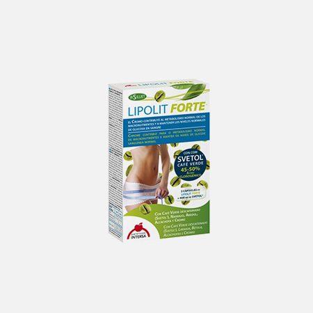 Lipolit Forte com Café Verde Descafeinado – 60 cápsulas – Dietética Intersa