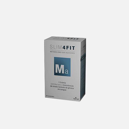 SLIM4FIT Metabolismo dos Açúcares – 60 compridos – Nutridil