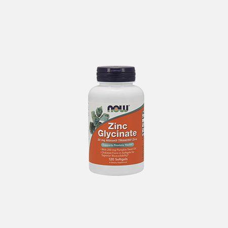 Zinc Glycinate Zinco Glicinato – 120 cápsulas – Now