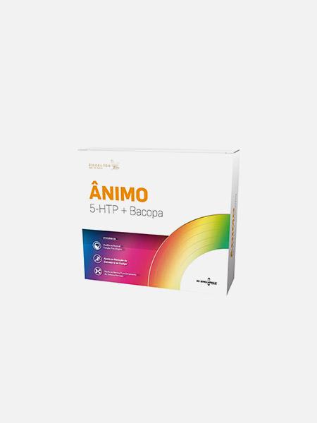 Ânimo 5-HTP + Bacopa - 30 ampolas - Biocêutica