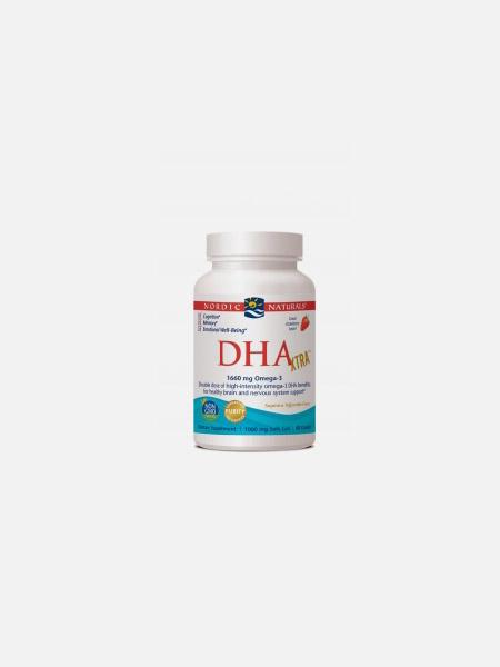 DHA Xtra 1660mg Omega 3 - 60 cápsulas - Nordic Naturals