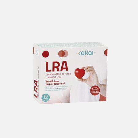 LRA Levedura Roja de Arroz – 30 cápsulas – Sakai