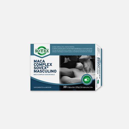 Maca Complex Sovex Masculino – 30 cápsulas – Sovex