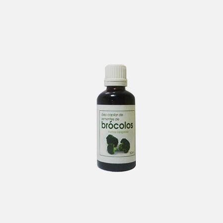 Óleo Capilar de Sementes de Brócolos – 50ml – Segredo da Planta