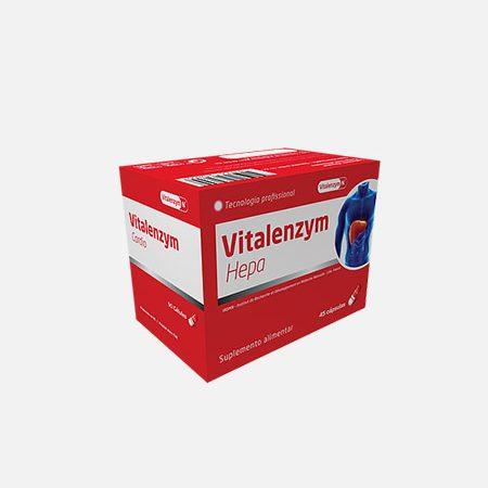Vitalenzym Hepa – 90 cápsulas – BioTop