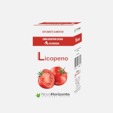 Licopeno – 60 cápsulas – Novo Horizonte