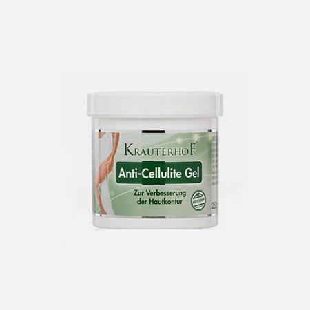 Anti-Celulite Gel de Massagem efeito quente – 250ml – ASAM
