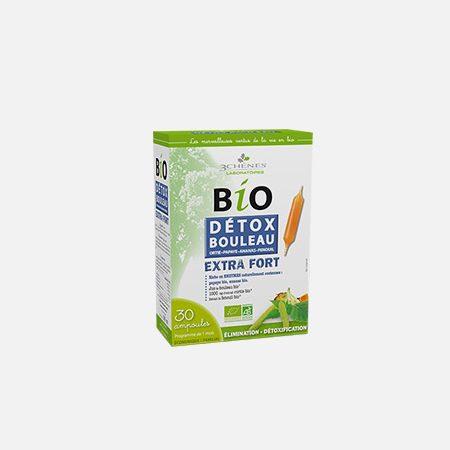 Bio Detox Bouleau Bétula Extra Fort – 30 ampolas – 3 Chênes
