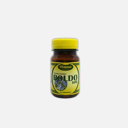Boldo 500 – 90 comprimidos – Soldiet