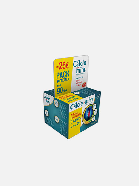 Cálcio para mim Pack 90 dias - 90 comprimidos - Phytogold