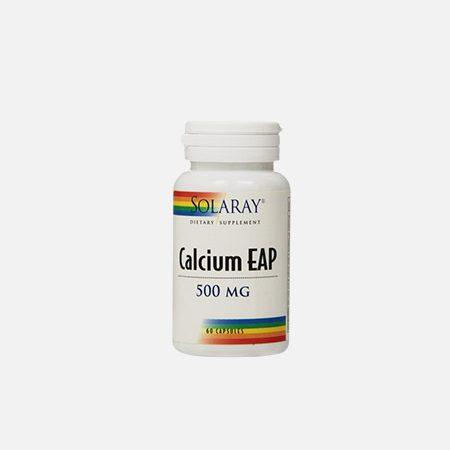 Calcium EAP 500mg – 60 cápsulas – Solaray