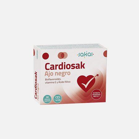 Cardiosak Alho Preto – 30 cápsulas – Sakai