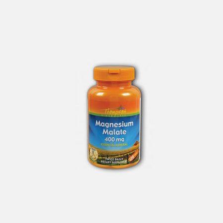 Magnesium Malate 400mg – 110 comprimidos – Thompson