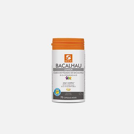 Óleo de Fígado de Bacalhau Junior – 70 cápsulas – Biofil