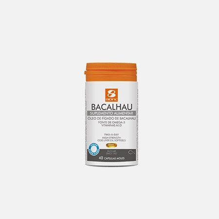 Óleo de Fígado de Bacalhau Sénior – 40 cápsulas – Biofil
