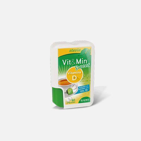 VIT & MIN Sweet Vitamina D – 60 comprimidos – ELADIET