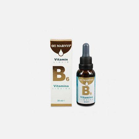 Vitamina B6 Liquida – 30ml – Marnys